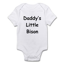 Daddy's Little Bison Infant Bodysuit