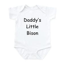 Daddy's Little Bison Onesie