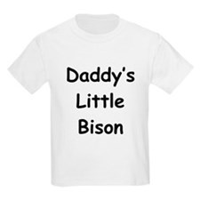 Daddy's Little Bison Kids T-Shirt