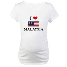 I HEART MALAYSIA FLAG Shirt