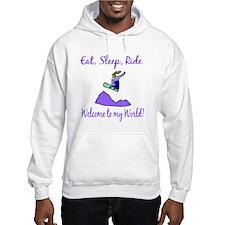 Eat, sleep, ride Hoodie