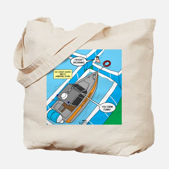 Water Rescue Tote Bag