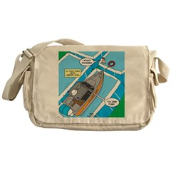 Water Rescue Messenger Bag