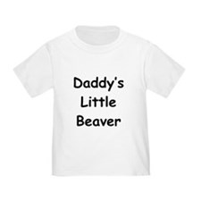 Daddy's Little Beaver T