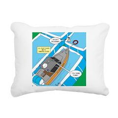 Water Rescue Rectangular Canvas Pillow