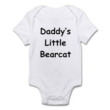 Daddy's Little Bearcat Infant Bodysuit