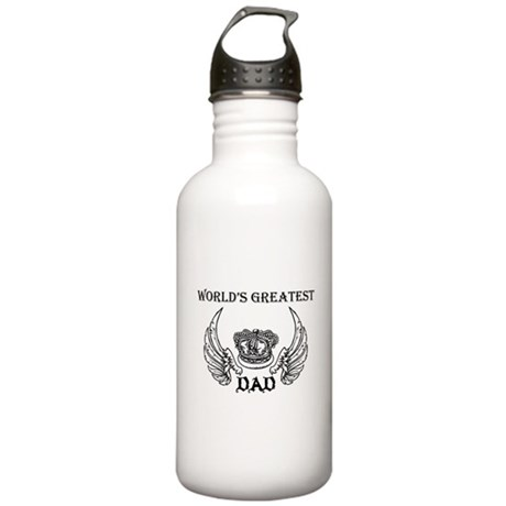 world's greatest dad Water Bottle