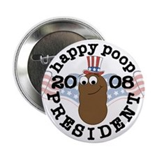 Happy Poop for Pres Button (10 pack)