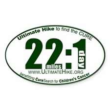 22 Miles:1 Day Decal
