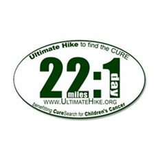 22 Miles:1 Day Wall Decal