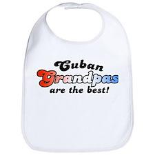 Cuban Grandpas are the Best  Bib
