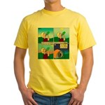 Hydrate and Dehydrate Yellow T-Shirt