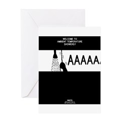 Ambient Showers Greeting Card