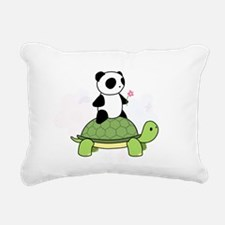 Cute Turtle Rectangular Canvas Pillow