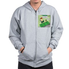Patch Trading Zip Hoodie