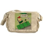 Patch Trading Messenger Bag