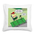 Patch Trading Square Canvas Pillow