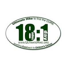 18 Miles:1 Day Wall Decal