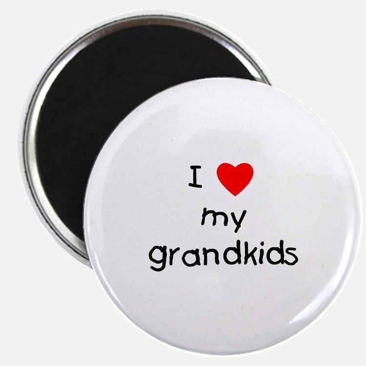 "I love my grandkids 2.25"" Magnet (10 pack)"