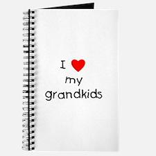I love my grandkids Journal