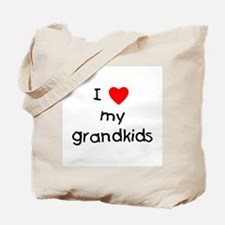 I love my grandkids Tote Bag