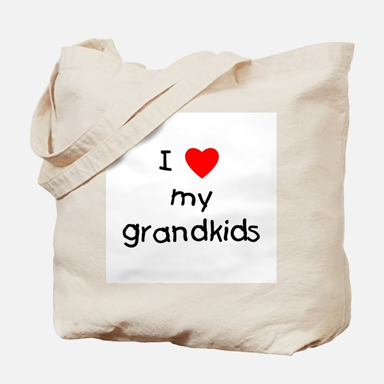 I love my grandkids Tote Bag