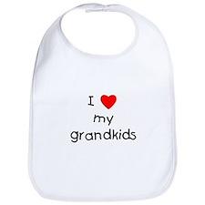 I love my grandkids Bib