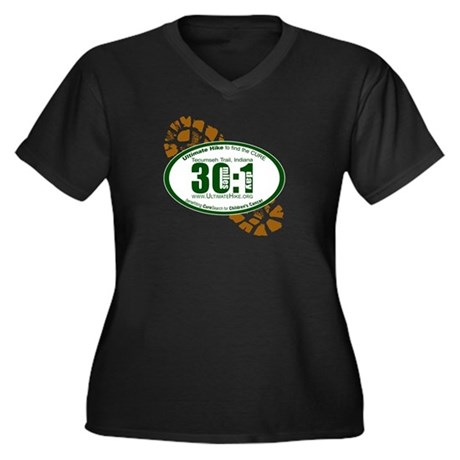 30:1 - Tecumseh Trail Women's Plus Size V-Neck Dar