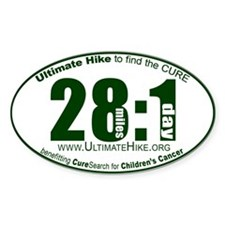 28 Miles:1 Day Decal