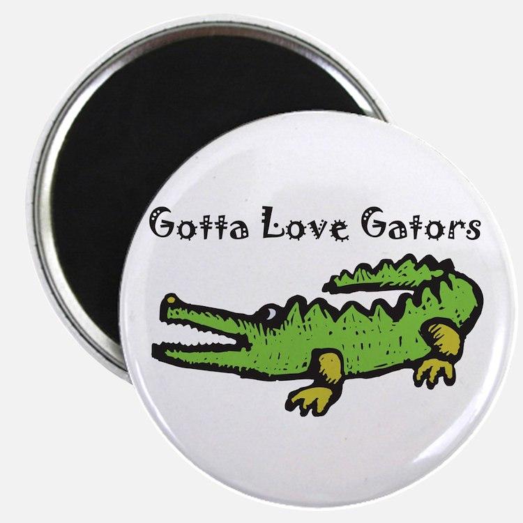 Gotta Love Gators Magnet