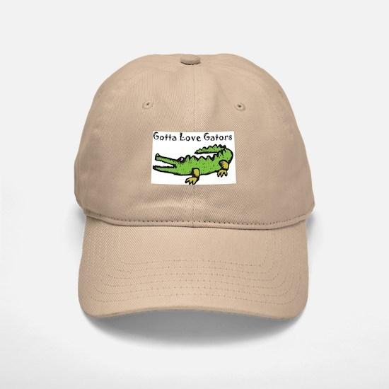 Gotta Love Gators Baseball Baseball Cap