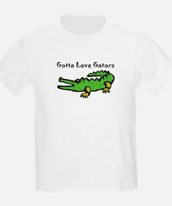 Gotta Love Gators Kids T-Shirt