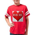 hugme-heart Youth Football Shirt