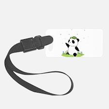 Turtle on a Panda Luggage Tag