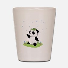 Turtle on a Panda Shot Glass