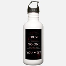 Trust No One You Meet Water Bottle