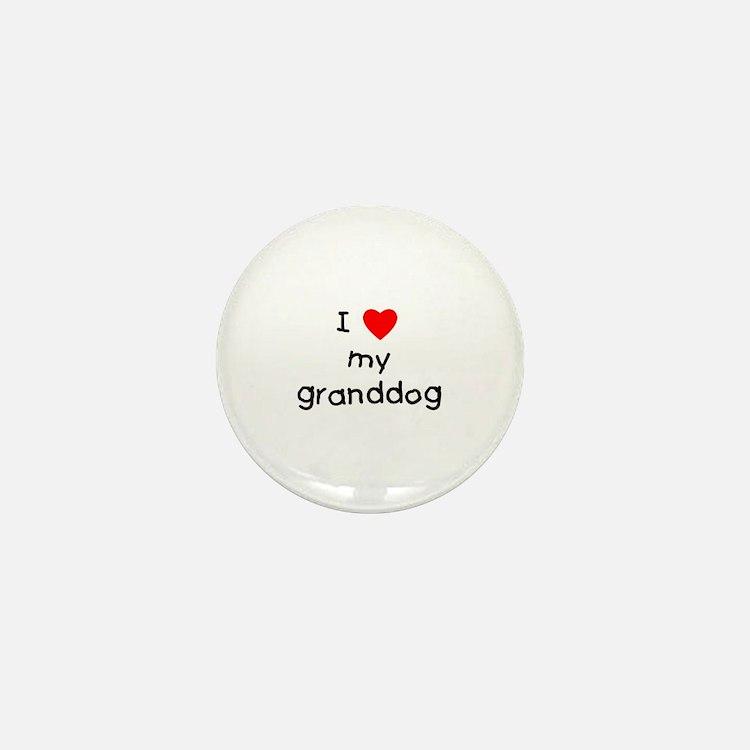 I love my granddog Mini Button