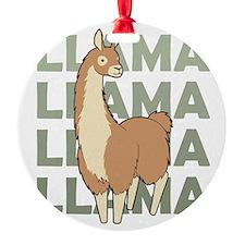 Llama, Llama, Llama! Ornament