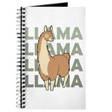 Llama Journals & Spiral Notebooks