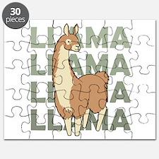 Llama, Llama, Llama! Puzzle