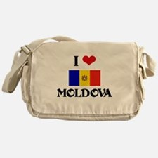 I HEART MOLDOVA FLAG Messenger Bag