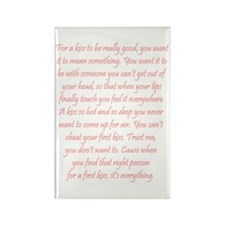 For a kiss Rectangle Magnet (10 pack)