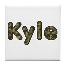 Kyle Army Tile Coaster