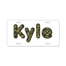 Kyle Army Aluminum License Plate
