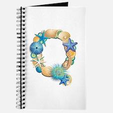 Beach Theme Initial Q Journal