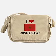 I HEART MOROCCO FLAG Messenger Bag