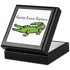 Gotta Love Gators Keepsake Box
