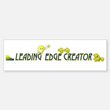leading edge creator long2 Bumper Bumper Bumper Sticker