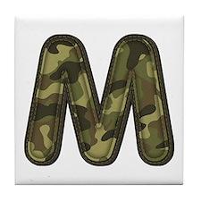 M Army Tile Coaster