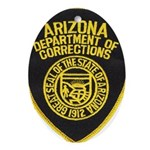 Arizona Corrections Oval Ornament